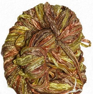 Louisa Harding Sari Ribbon Yarn - 07 Golden