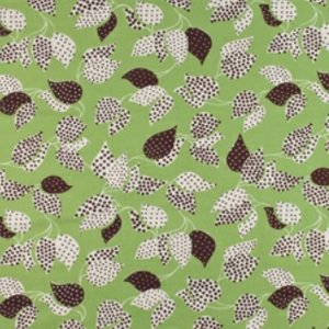 Denyse Schmidt Flea Market Fancy Legacy Collection Fabric - Leaf & Dot - Green