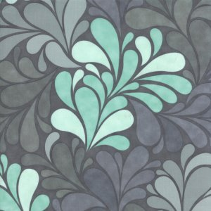 Cosmo Cricket Salt Air Fabric - Sea Garden - Ocean (37022 11)