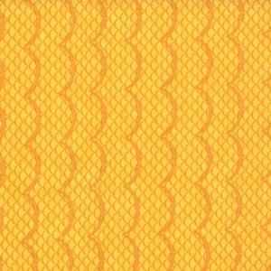 Cosmo Cricket Salt Air Fabric - Waves - Sunshine (37025 14)