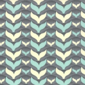 Cosmo Cricket Salt Air Fabric - Fish Tales - Ocean (37026 11)