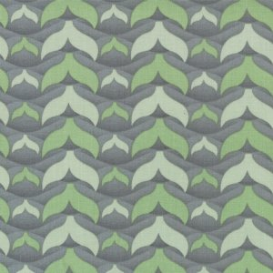 Cosmo Cricket Salt Air Fabric - Fish Tales - Mist (37026 13)