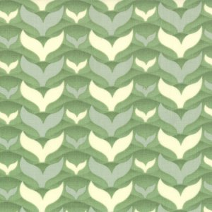 Cosmo Cricket Salt Air Fabric - Fish Tales - Seafoam (37026 23)