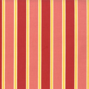 Cosmo Cricket Salt Air Fabric - Deck Chairs - Coral (37027 12)