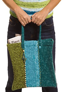 Berroco Suede Shopping Bag Kit - Crochet for Home