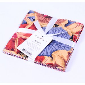 Kaffe Fassett Kaffe Collective Bundle Precuts Fabric - Charm Pack - Earth