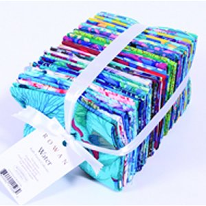 Kaffe Fassett Kaffe Collective Bundle Precuts Fabric - Fat Quarter - Water