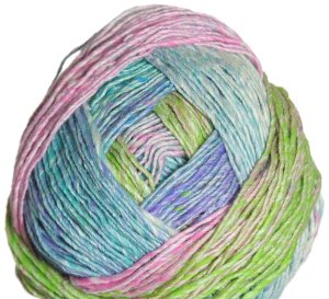 Noro Ayatori Yarn - 06 Lime, Pink, Lt. Purple, Sea Green (Discontinued)