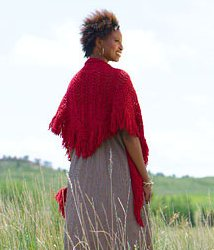 Swans Island Colors Worsted Oana Shawl Kit - Scarf and Shawls