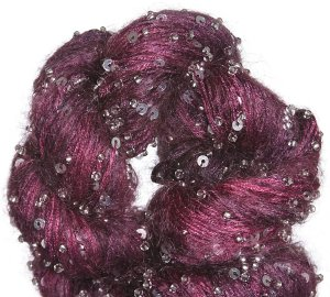 Artyarns Beaded Mohair and Sequins Yarn - 912 w/Silver