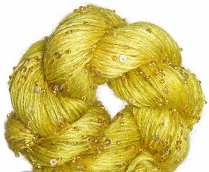 Artyarns Beaded Mohair and Sequins Yarn - 924 w/Gold