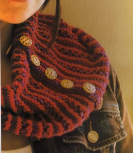 Cascade Venezia Worsted Crayon Cowls Kit - Scarf and Shawls