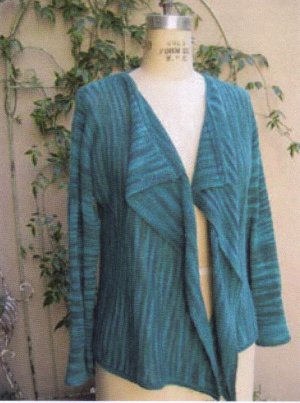 Jade Sapphire Patterns - Pagoda Jacket Pattern
