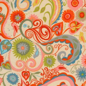 Valori Wells Nest Corduroy Fabric - Paisley - Autumn