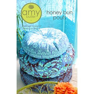 Amy Butler Sewing Patterns - Honey Bun Pouf Pattern