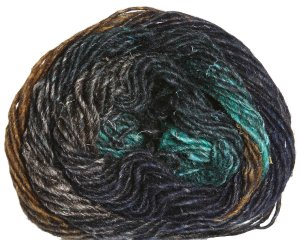 Noro Silk Garden Yarn - 352 Black, Brown, Green (Discontinued)