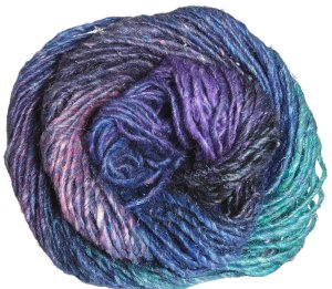 Noro Silk Garden Yarn - 353 Blue, Pink, Green