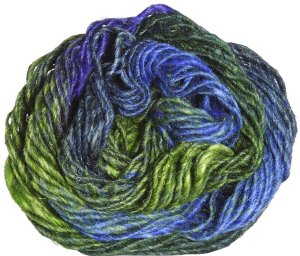 Noro Silk Garden Yarn - 354 Yellow, Green, Blue