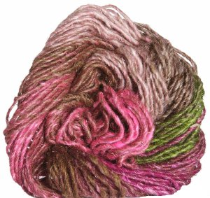 Noro Silk Garden Yarn - 355 Pink, Brown, Green (Discontinued)