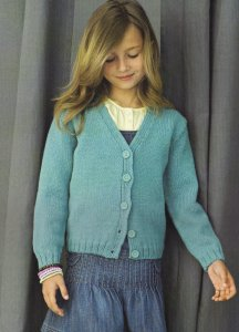 Bergere de France Magic + Children's Sweater Vest Kit - Baby and Kids Cardigans