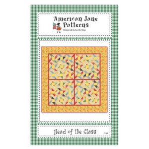 American Jane Patterns - Head of the Class Pattern