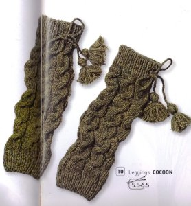 Bergere de France Cocoon Leg Warmers Kit - Women's Accessories