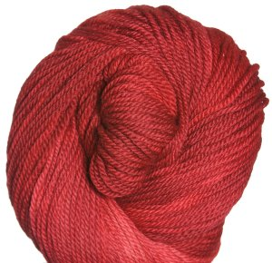 Swans Island Natural Colors Worsted Yarn - Coral Red (Limited Edition)