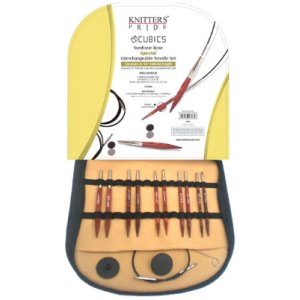"Knitter's Pride Cubics Special Interchangeable Needle Set Needles - 16"" Set Needles"