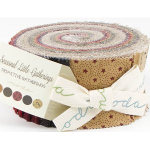 Primitive Gatherings Seasonal Gatherings Precuts Fabric - Jelly Roll