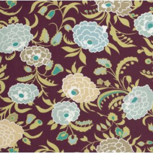 Amy Butler Gypsy Caravan Fabric - Gypsy Mum - Wine