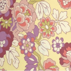 Amy Butler Gypsy Caravan Fabric - Cutting Garden - Linen