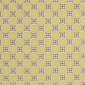 Amy Butler Gypsy Caravan Fabric - Deco Dots - Citrine