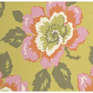 Amy Butler Gypsy Caravan Fabric - Wild Poppy - Citrine