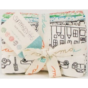Lucie Summers Summersville Precuts Fabric - Fat Eighth Bundle