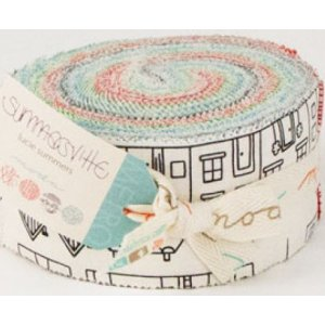 Lucie Summers Summersville Precuts Fabric - Jelly Roll
