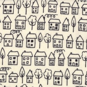 Lucie Summers Summersville Fabric - Avenue - Coal (31702 11)