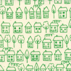 Lucie Summers Summersville Fabric - Avenue - Leaf (31702 15)