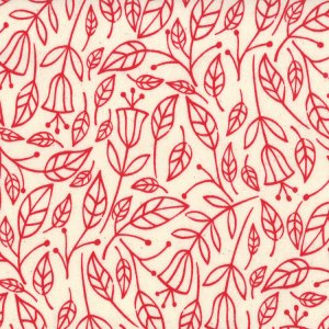Lucie Summers Summersville Fabric - Fall - London Bus Red (31703 12)