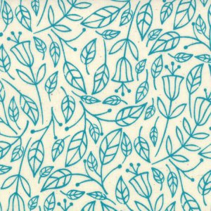 Lucie Summers Summersville Fabric - Fall - Seafoam (31703 14)