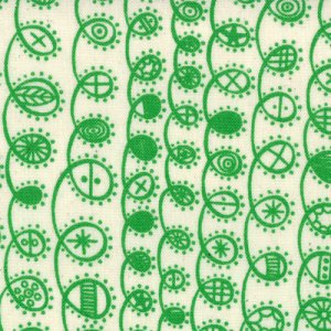 Lucie Summers Summersville Fabric - Twist - Leaf (31705 15)