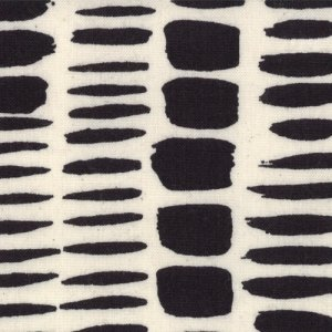Lucie Summers Summersville Fabric - Brush Strokes - Coal (31706 11)