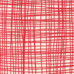 Lucie Summers Summersville Fabric - Weave - London Bus Red (31707 12)