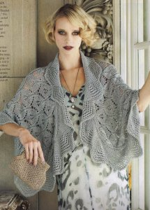 Debbie Bliss Prima Lace Capelet Kit - Scarf and Shawls