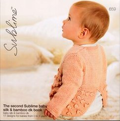 Sublime Books - 659 - The 2nd Sublime Baby Silk and Bamboo DK Book
