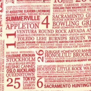 Sweetwater Hometown Fabric