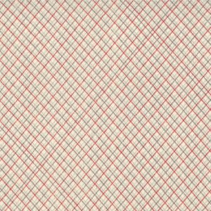 Sweetwater Hometown Fabric - Preppy Plaid - Stop Sign (5466 12)