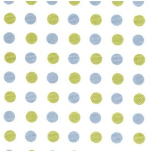 Sweetwater Make Life Canvas Fabric - Blue Dots (54920 13)