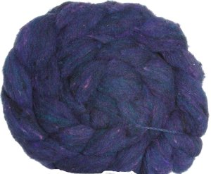 Imperial Yarn Sliver Roving Yarn - Indigo Heather