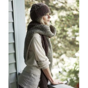Imperial Yarn Patterns - Canyon Divide Hat & Scarf Pattern