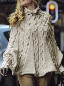 Bergere de France Magic + Poncho Kit - Women's Pullovers